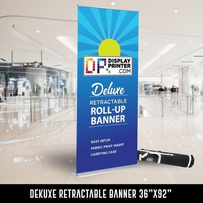 deluxe retractable banner