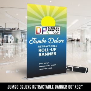 Jumbo Deluxe Retractable Banner