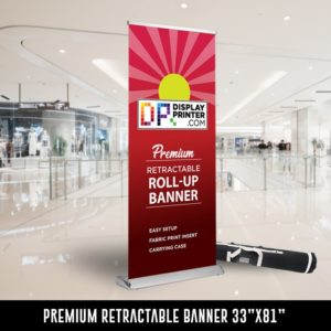 Premium Retractable Banner Printing