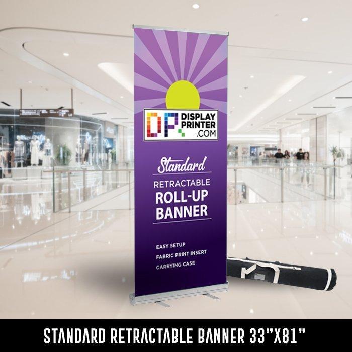 standard retractable banner