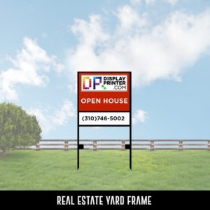 Real Estate Yard Frame