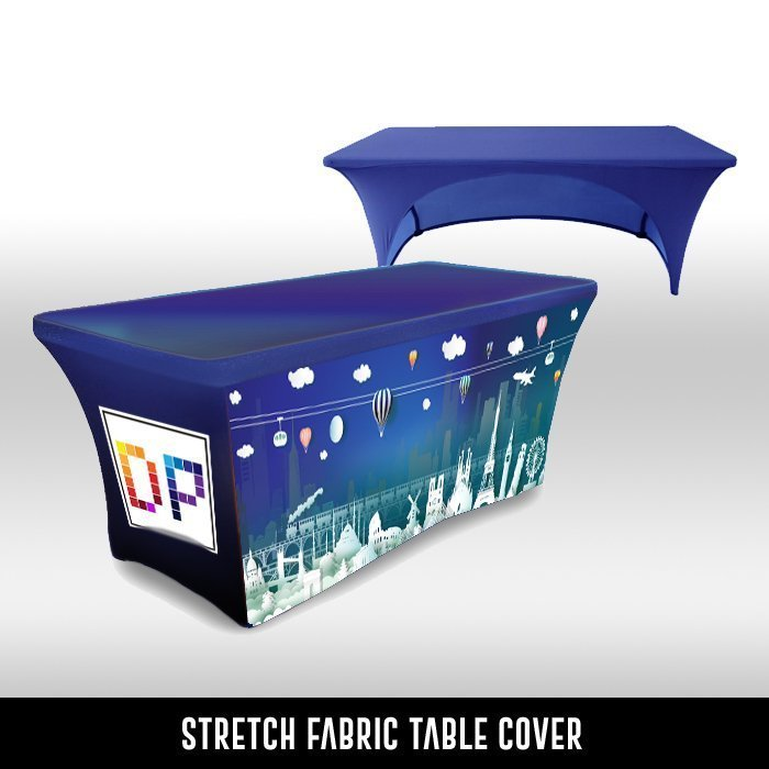 Stretch Fabric Table Covers
