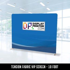 Tension Fabric VIP Screen 10 Feet
