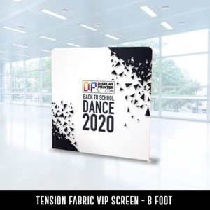 Tension Fabric VIP Screen - 8 foot