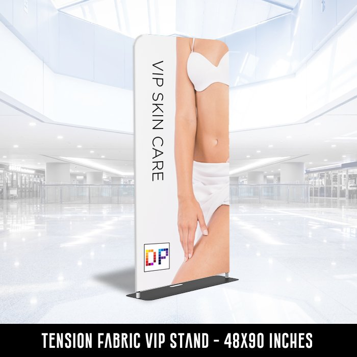 Tension Fabric VIP Stand 4x8x90 inches