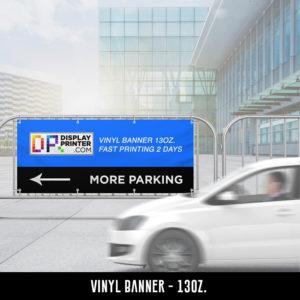 Vinyl Banner 13 oz.