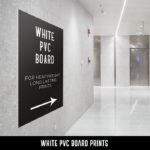 White PVC Board Prints