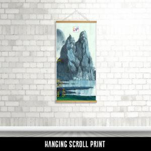 Hanging Scroll Print