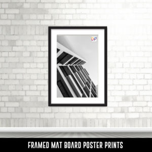 Framed Mat Board Poster Prints