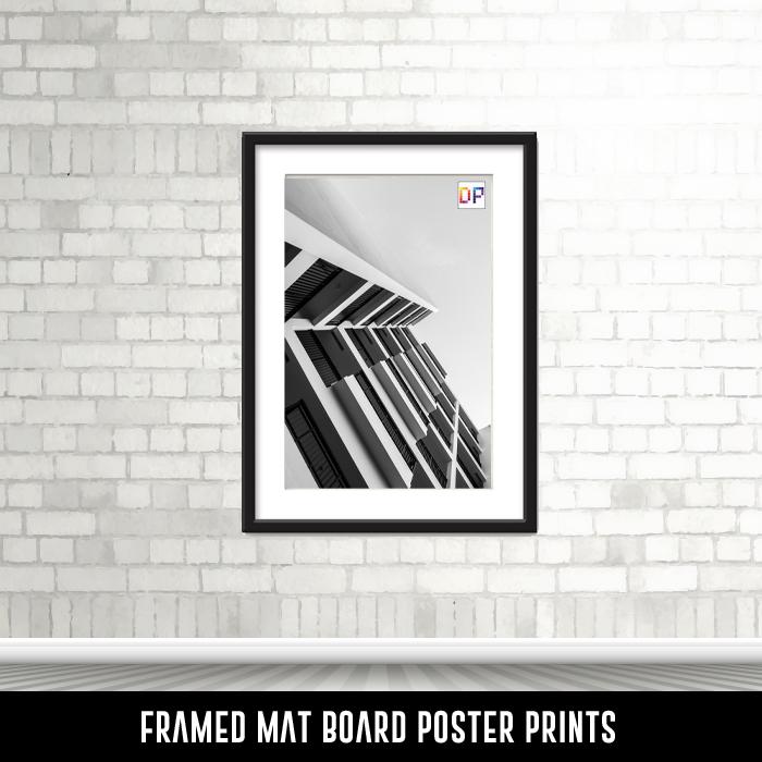 Framed Mat Board Poster Prints